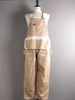 Westoveralls | MR.CLEAN x WEST'S VINTAGE OVERALL Khaki コラボレーションヴィンテージオーバーオールの商品画像