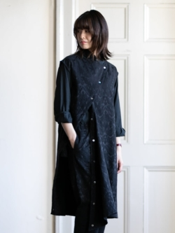 ENGINEERED GARMENTS | TUNIC DRESS – PAISLEY JAC. Black ペイズリーチュニックドレスの商品画像