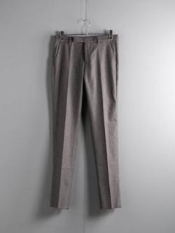 MAISON MARGIELA | S50KA0389 Khaki Grey ウールコットンハウンドトゥーストラウザーズの商品画像