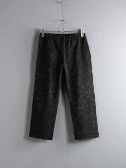ENGINEERED GARMENTS | STK PANT – PAISLEY JAC. Black ペイズリーSTKパンツの商品画像