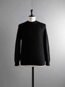 BN-20FM-030 SIGNATURE CREW NECK Black