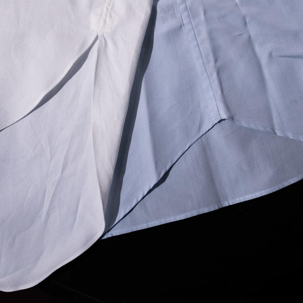インディゴAM マスターシードコットンイカ胸アーカイブシャツ