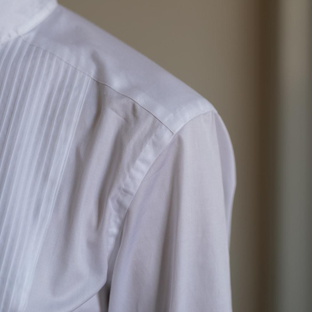 YINDIGO A M x 蝶矢シャツ ピンタックアーカイブシャツの通販取扱店