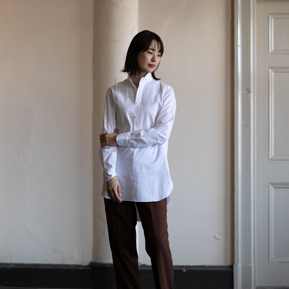 インディゴAM x 蝶矢シャツ マスターシードコットンシャツの通販取扱店