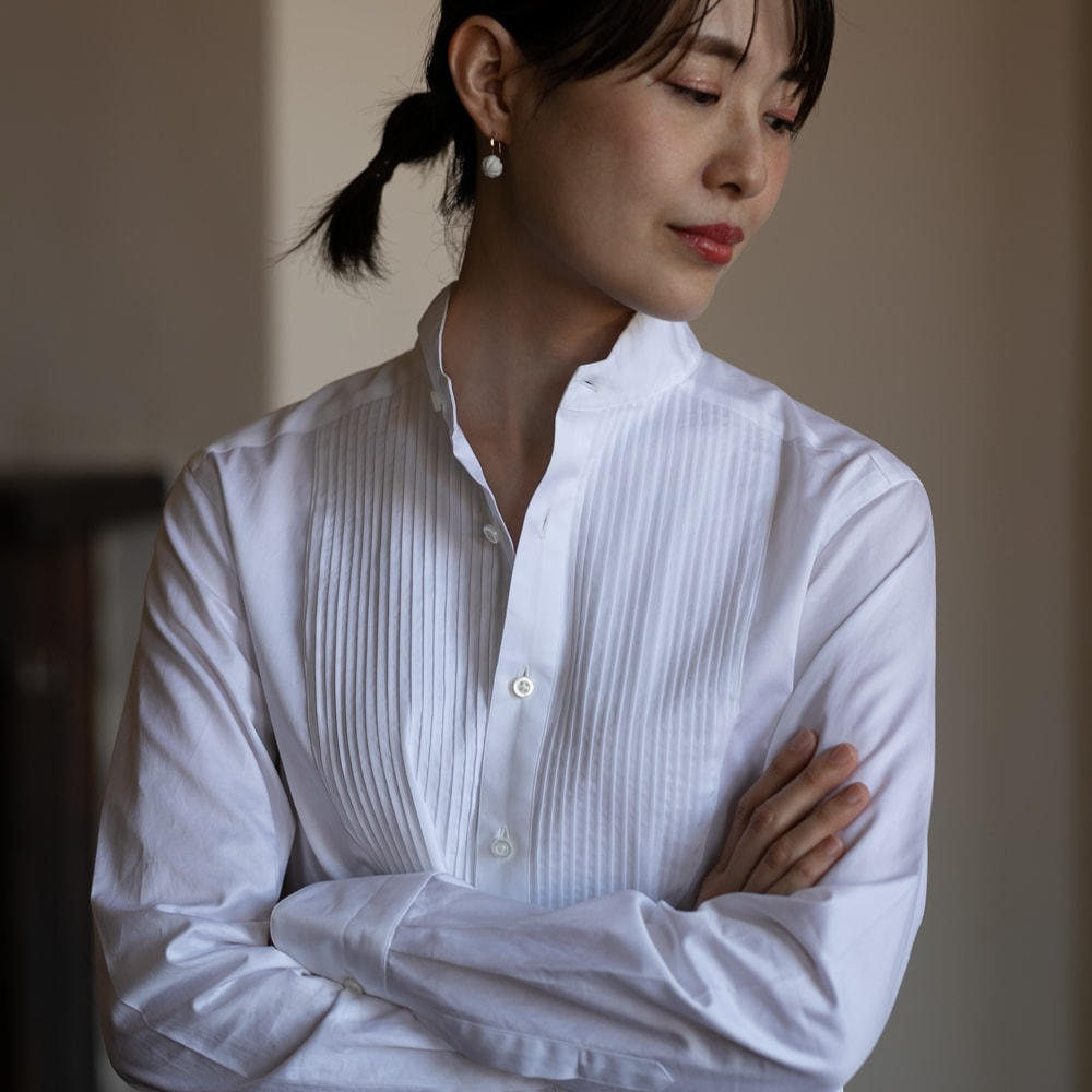 インディゴエイエム x 蝶矢シャツ アーカイブシャツの通販取扱店