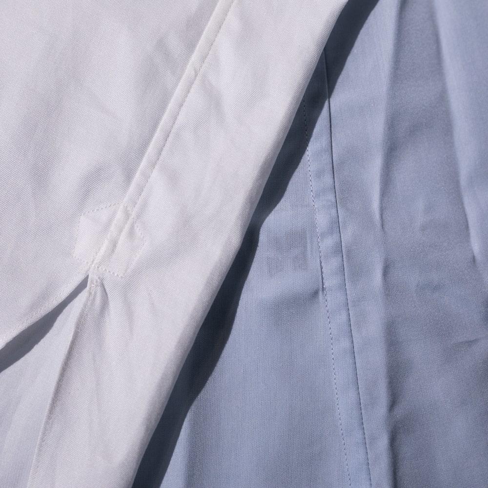 インディゴAM マスターシードコットンイカ胸シャツの通販取扱店