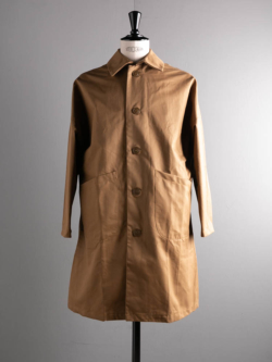 DUSTER COAT COTTON DRILL Khaki