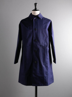 DUSTER COAT COTTON DRILL Navy