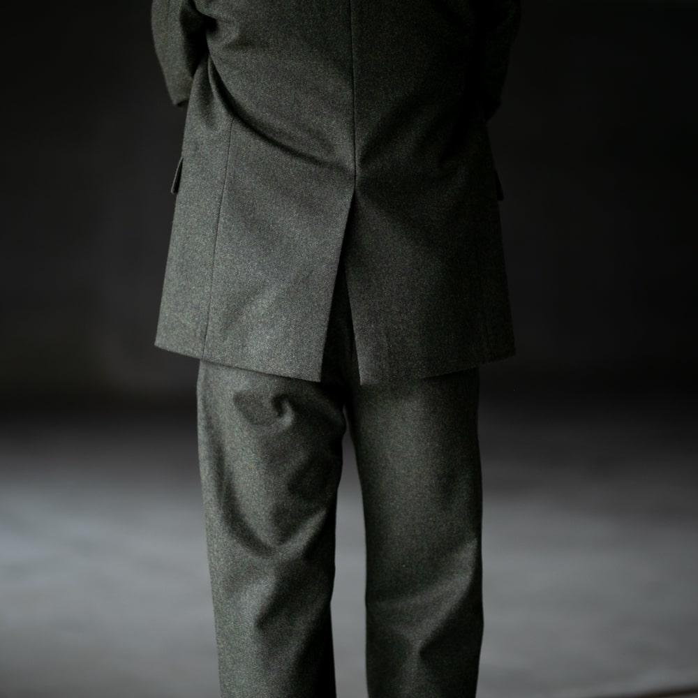 フランクリーダー ローデンウールテーラードジャケット オリーブの通販取扱店