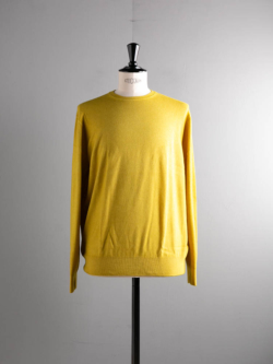 CASHMERE CREWNECK SWEATER Yellow