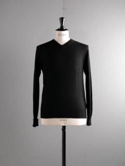 CASHMERE V-NECK PULLOVER Black