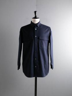 tilt The authentics | 21SSSH-04B LOOSE CPO SHIRTS JACKET Dark Navy CPOシャツジャケットの商品画像