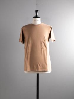 FilMelange | DIZZY Ocher 半袖クルーネック胸ポケTシャツの商品画像