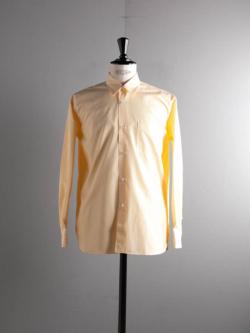 Sans Limite | S2101112 SH01B THOMAS MASON Yellow マイクロストライプボックスレギュラーカラーシャツ