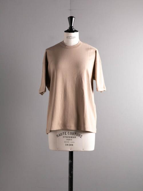 GICIPI | 2114P RUBINO Deserto コットンフライスリラックスフィットTシャツ ルビーノの商品画像