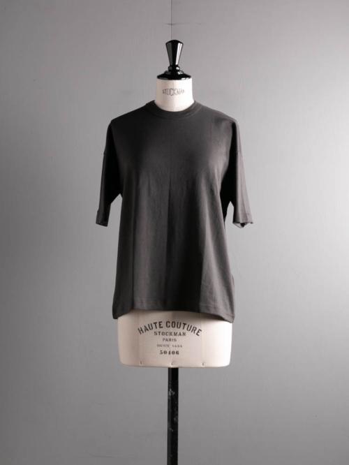 GICIPI | 2114P RUBINO Marrone Velato コットンフライスリラックスフィットTシャツ ルビーノの商品画像
