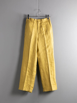 GOOD FIT TROUSERS Yellow