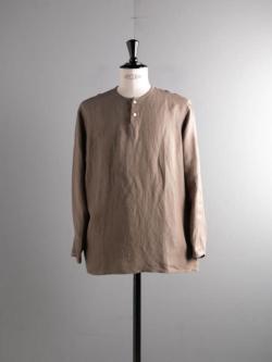 Aquellos Ojos Verdes BISHU | DRESSED RAYON LINEN SLEEPING SHIRT Beige(Khaki) レーヨンリネンスリーピングシャツの商品画像