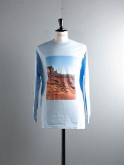 Westoveralls | ARIZONA PHOTO L/S T-SHIRT Sax アリゾナフォトロングスリーブTシャツの商品画像