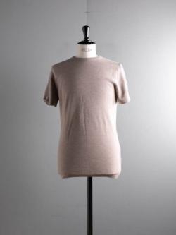 JOHN SMEDLEY | 2.SINGULAR Soft Fawn ウールハニカム 半袖ニットTシャツの商品画像