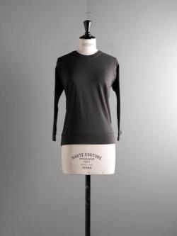 GICIPI | 2015P ZAFFIRO Marrone Velato コットンフライス七分袖Tシャツ ザッフィーロの商品画像