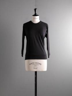 GICIPI | 2015P ZAFFIRO Nero コットンフライス七分袖Tシャツ ザッフィーロの商品画像