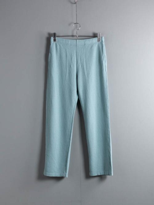 FilMelange | CORY Azure Blue エアリネン裏毛スウェットパンツ コリーの商品画像