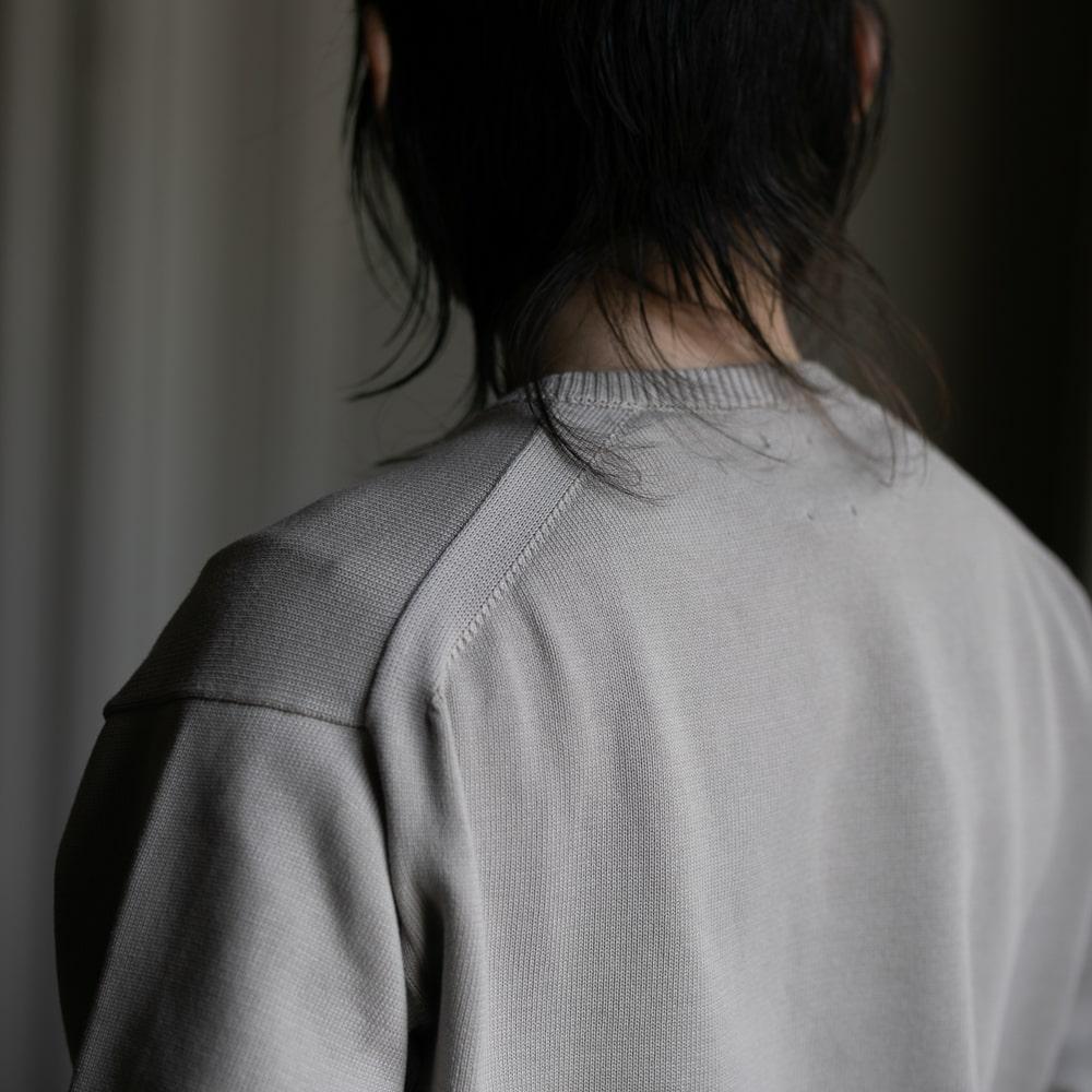 バトナー エイジングコットン丸首セーターの福岡通販取扱店