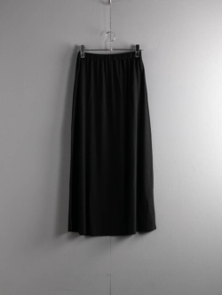 BN-21SL-028 WASHABLE WOOL SKIRT Black