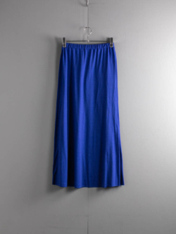 BN-21SL-028 WASHABLE WOOL SKIRT Blue