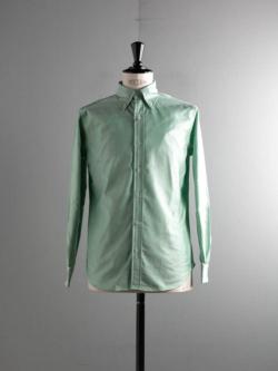 BROOKS BROTHERS | MILANO FIT MADE IN USA Green オックスフォードボタンダウンシャツの商品画像