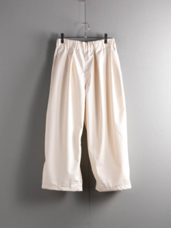 WORK PANTS T/C TWILL Off White