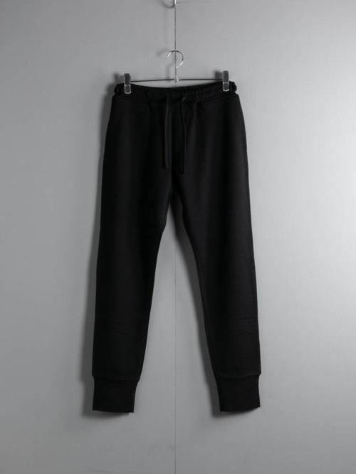 YINDIGO A M | WW101 WOOL BOXING PANTS Black ウォッシャブルウール裏毛ボクシングパンツの商品画像