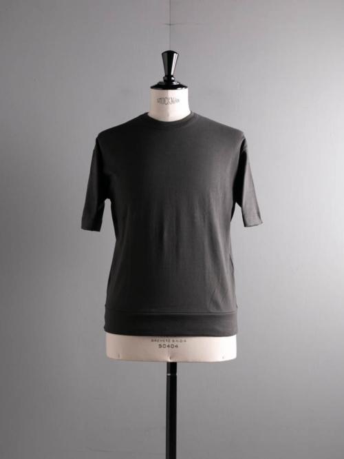 GICIPI | 2102P TONNO Marrone Velato コットンフライスリラックスフィットTシャツ トーンノの商品画像