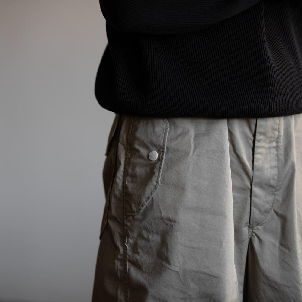 ガーメンツ OVER PANT – HIGH COUNT TWILL Khakiの福岡通販取扱店