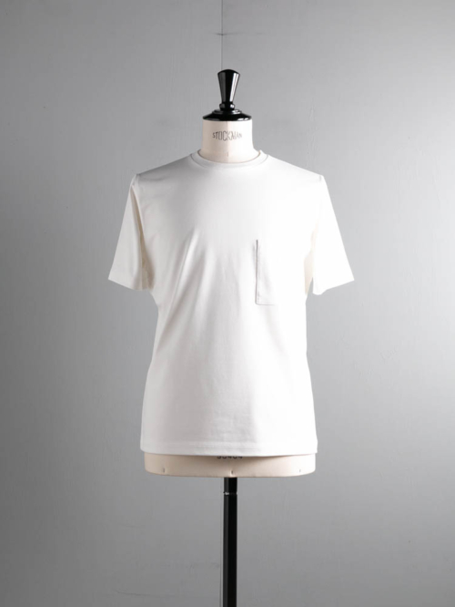 BN-21SM-042 HIGH COUNT ORGANIC COTTON T-SHIRT White