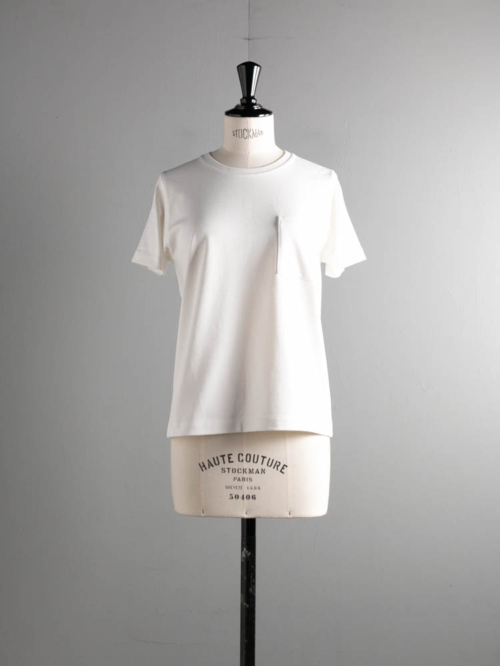 BN-21SL-039 HIGH COUNT ORGANIC COTTON T-SHIRT White