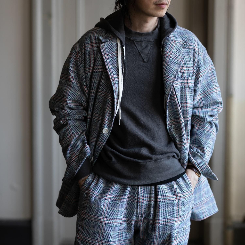 ガーメンツ グレンチェックロイタージャケットの福岡通販取扱店