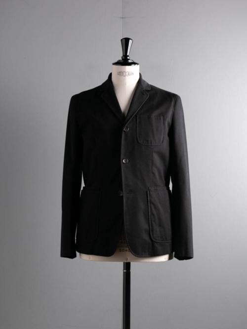 その他のBRAND | STEVEN ALAN / UNSTRUCTURED SPORT COAT Black コットン3つボタンジャケットの商品画像