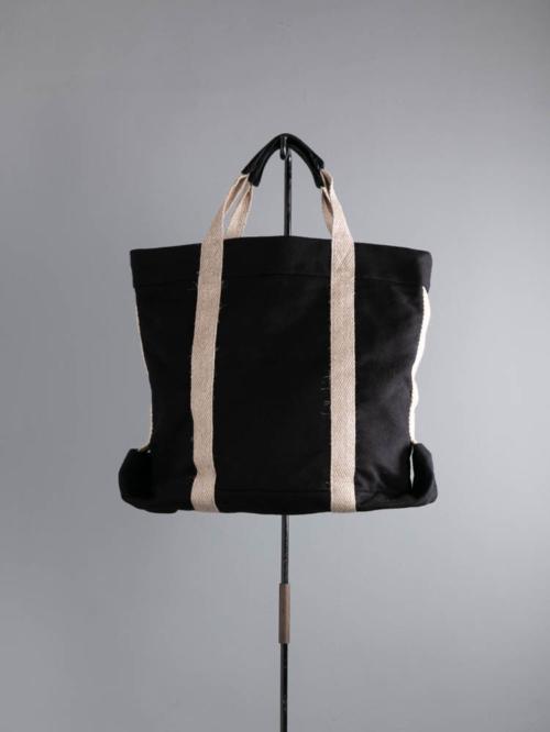 FRANK LEDER | DEUTSCHLEDER BAG 99:Black ジャーマンレザートートバッグの商品画像