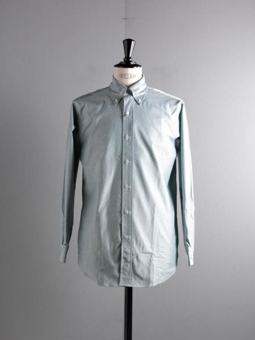 BROOKS BROTHERS | REGENT FIT MADE IN USA Green オックスフォードボタンダウンシャツの商品画像