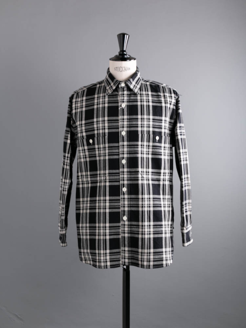 Westoveralls | NEL SHIRT Bk.Check コットンチェックネルシャツの商品画像