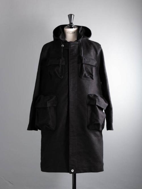 FRANK LEDER | DEUTSCHLEDER BIG POCKET COAT 99:Black ジャーマンレザービッグポケットコートの商品画像