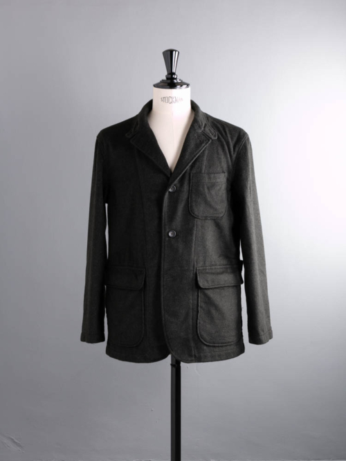 ENGINEERED GARMENTS | LOITER JACKET – LODEN CLOTH Olive ロイタージャケットの商品画像