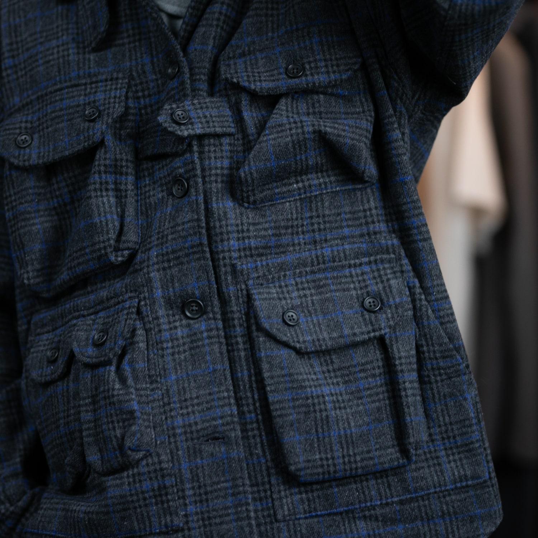 ガーメンツ エクスプローラーシャツジャケット ツイードチェックの福岡通販取扱店