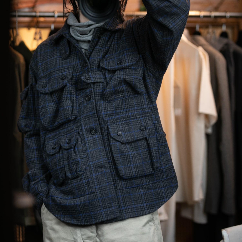 エンジニアードガーメンツ マルチポケットシャツジャケットの福岡通販取扱店